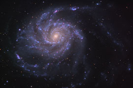 Astronomy picture of the day: The Pinwheel Galaxy