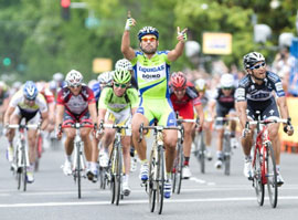 Francesco Chicchi wins stage 4 of the ATOC