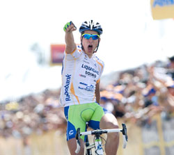 Peter Sagan wins ATOC stages 5 and 6!