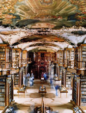 Twenty of the world's most beautiful libraries; Abbey Library in Switzerland