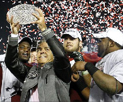 Alabama over Texas in the first stand-alone BCS championship