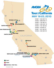 Amgen TOC 2010 route