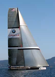 BMW/Oracle trimaran
