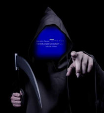 the blue screen of death reaper