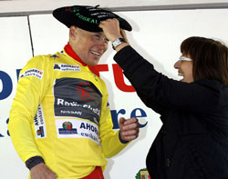 Chris Horner wins Basque Tour