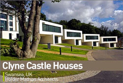 "Clyne Castle houses from ""the 10 architectural wonders of 2008"""