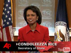 Condoleezza Rice reacts to Obama's election
