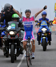 Damino Cunigo wins stage 8 of the Vuelta