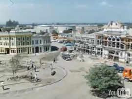 Time-lapse videos of Disneyland's construction back in 1954