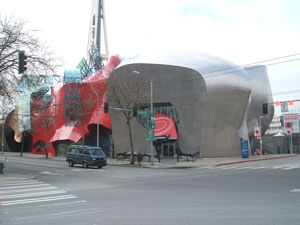Experience Music Project - from the ground