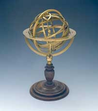 Galileo's Armillary Sphere (astolabe) from 1578