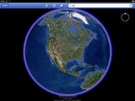 Google Earth for the iPad is awesome!