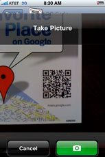 Google QR codes link to business info