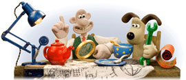 Google celebrates 20th anniversary of Wallace and Gromit