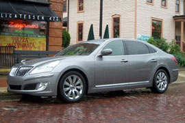 Hyundai Equus - a would-be Lexus competitor?