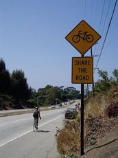 share the road!