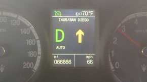 66,666 miles at 66 mph