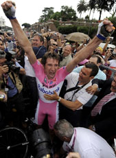 Denis Menchov wins the Giro!