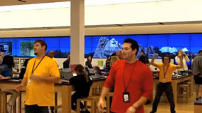 Microsoft Store breaks into song