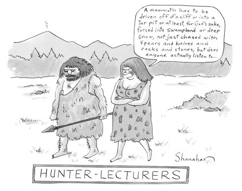 hunter lecturers