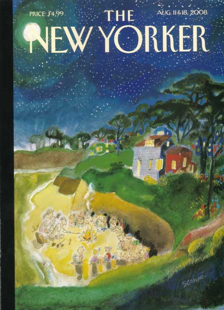 New Yorker 8/11/08 - future memories