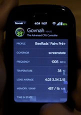 Palm Pre overclocked to 1GZ! hot!