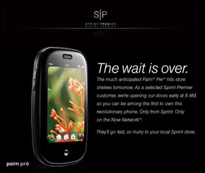 From Sprint: the Pre wait is over!