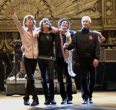 the Rolling Stones Shining A Light