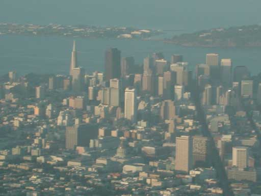 San Francisco from the air...