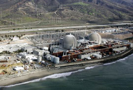 "San Onofre nuclear power plant - in the middle of my ""Kessel Run"""