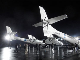 Virgin Galactic's Space Ship Two: the Tip of the Iceberg for Private Space Travel