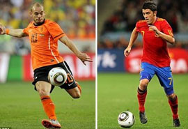 Holland vs Spain - an epic World Cup final...