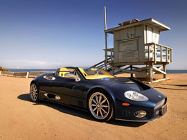 Spyker Spyder - the coolest supercar you've never heard of...