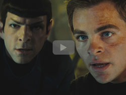 Star Trek - young Spock and Kirk