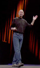 Steve Jobs at Macworld
