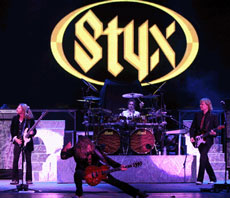 Styx in concert - loudness personified