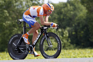 Denis Menchov had a great ride to finish tops among the GC contenders and take over third place