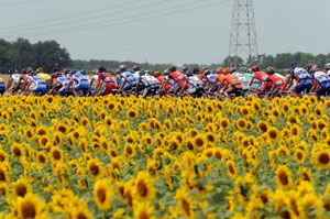 TDF10 stage 6 - the beauty of France in summer on display, as always...