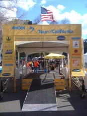 Tour of California - starting gate