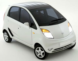 the Tata Nano - $2,500 worth of disruption