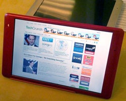 CrunchPad - the TechCrunch tablet...