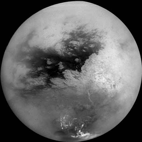 Titan - Saturn's largest moon