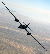 A U-2 in flight - still in use today!
