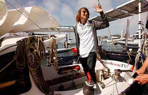 Zac Sunderland - youngest to sail around the world alone!