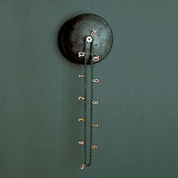 the awesome bicycle chain clock