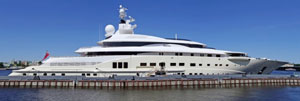 billionaire's yacht, featuring anti-photo shield (how was this one taken :)