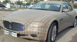 the Burberry Quattroporte