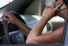 driving while phoning