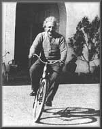 Einstein biking