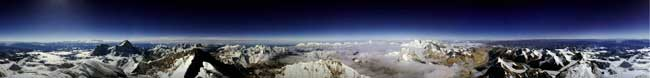 Mt. Everest panorama
